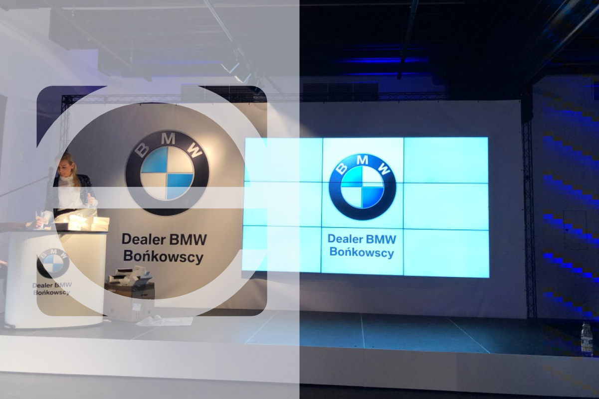 Organizacja eventu noworocznego BMW Bońkowscy